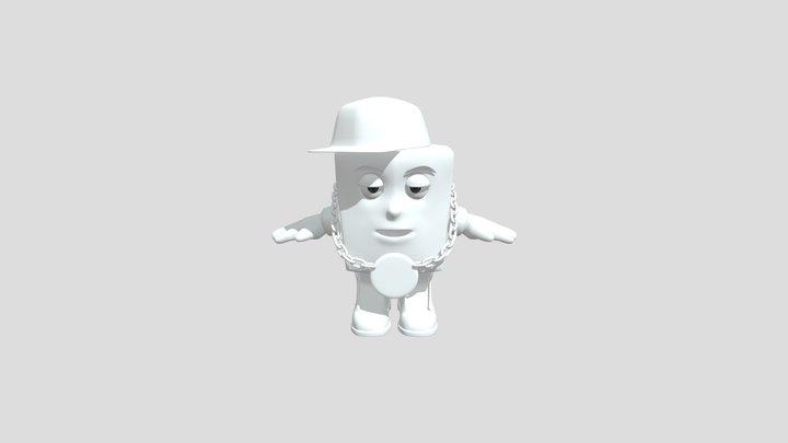 Shisko Mascot 3D Model