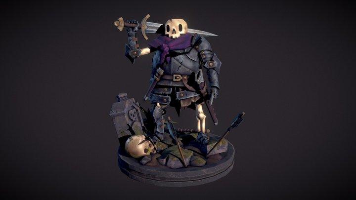 Skelly warrior 3D Model