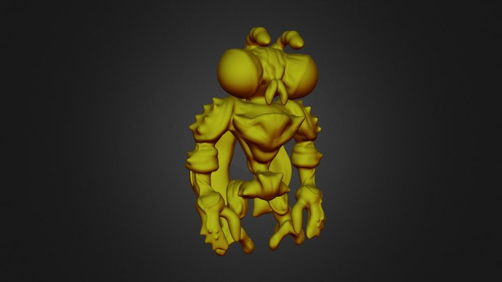 Bee Real 3D Model