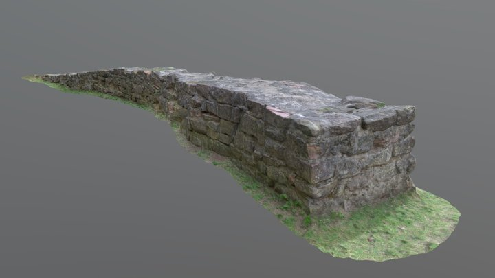 Castle foundation of the Chateau d'Epinal 3D Model