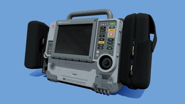 """LifePak 15"" Cardiac Monitor & Defibrillator 3D Model"