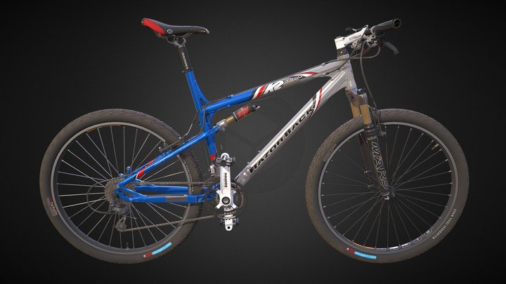 K2 Mountain Bike 3D Model