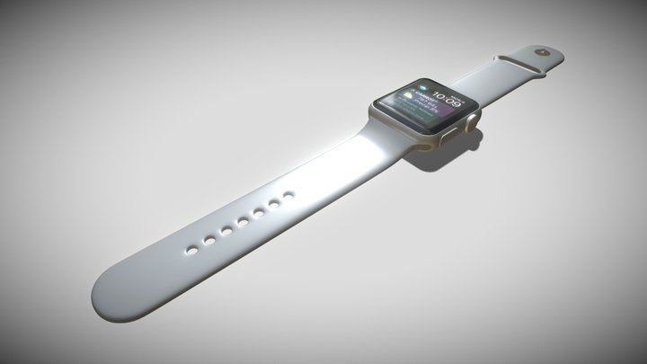Apple iWatch series 3 3D Model