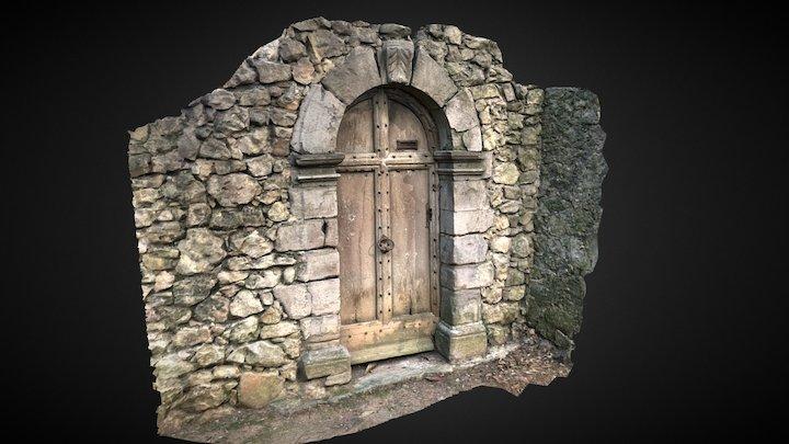 Old Door Photogrammetry 3D Model