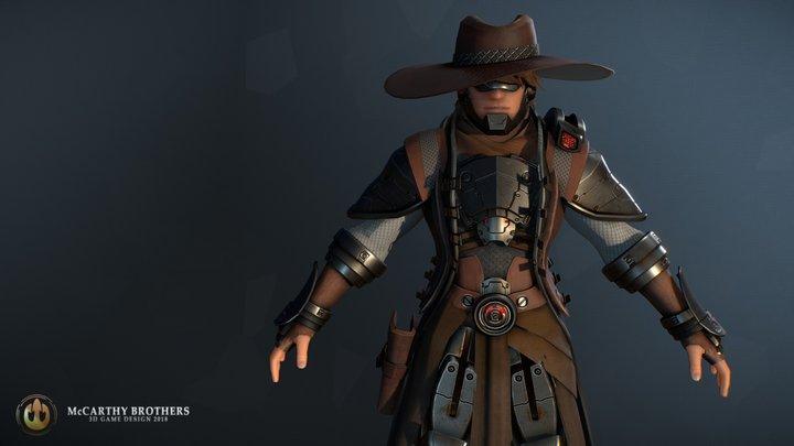 The Bounty Hunter 3D Model