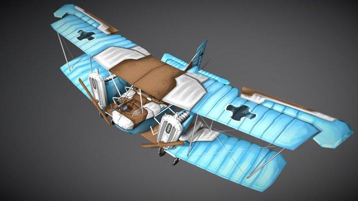 AEG G.IV Early, Stylized 3D Model