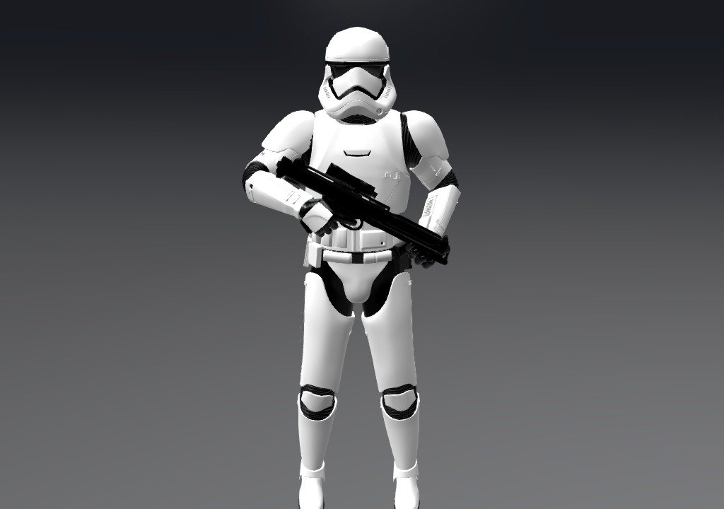 Fortnite Star Wars Challenges First Order Stormtrooper First Order Stormtrooper 3d Model By Bonnard Christophe Bonnard Christophe 8581ccd