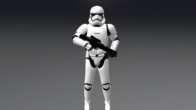 First-Order Stormtrooper 3D Model