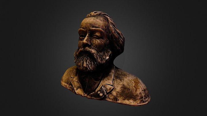 Karl Marx 3D Model