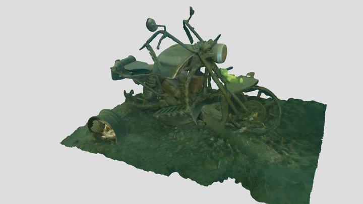 Underwater chopper 3D Model