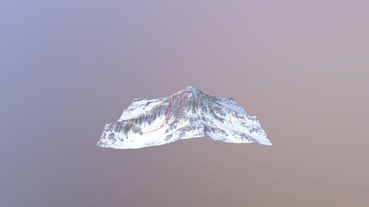 Gausta Med Bana 3D Model