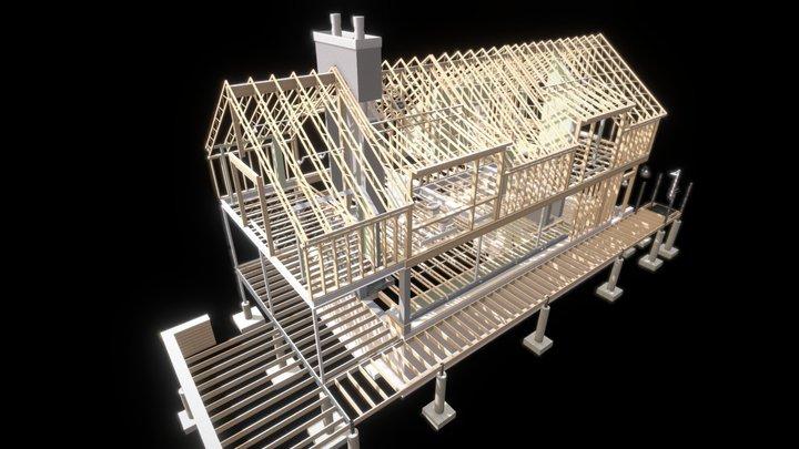 House Part 1 - Structure & MEC 3D Model