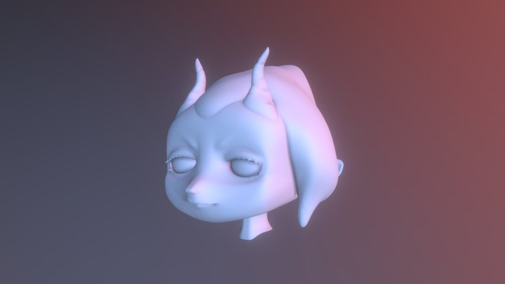 Head Details Edit 3D Model