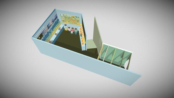 Margate Caves - Exhibition Interpretation Space 3D Model