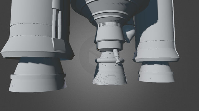 Ariane 5 3D Model
