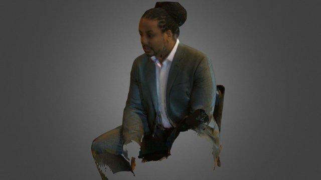 Louis Douglas 3D Model