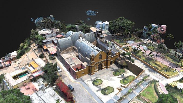 Iglesia La Ermita 3D Model