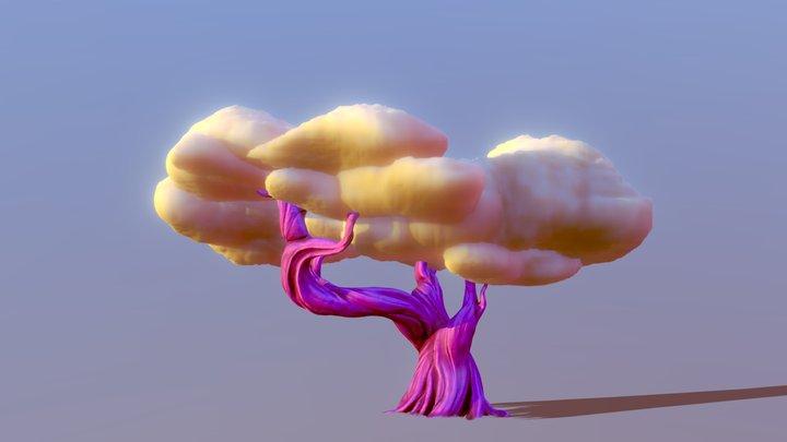 Cloud Tree - Cloudsai 3D Model