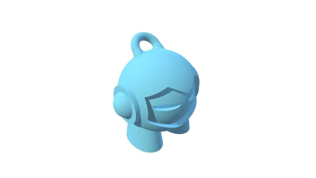 Marvin Key Chain try out 3D Model