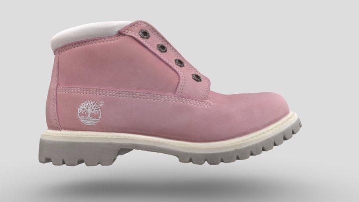 Pink Boot 3D Model