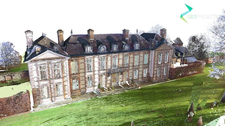 French Castle - 2017 3D Model