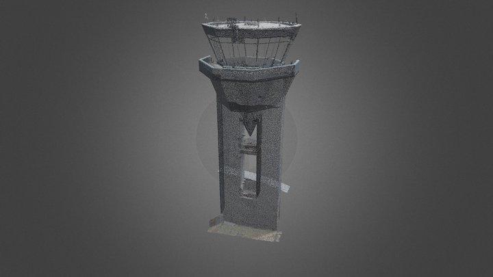 Matoury - Tour de Contrôle Félix Eboué 3D Model