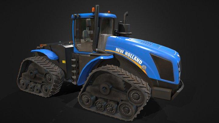 New Holland T9 3D Model