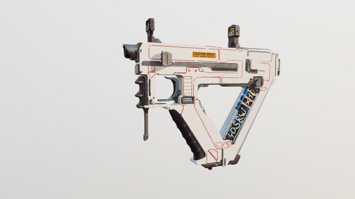 Trinity Mechanical Pistol 3D Model