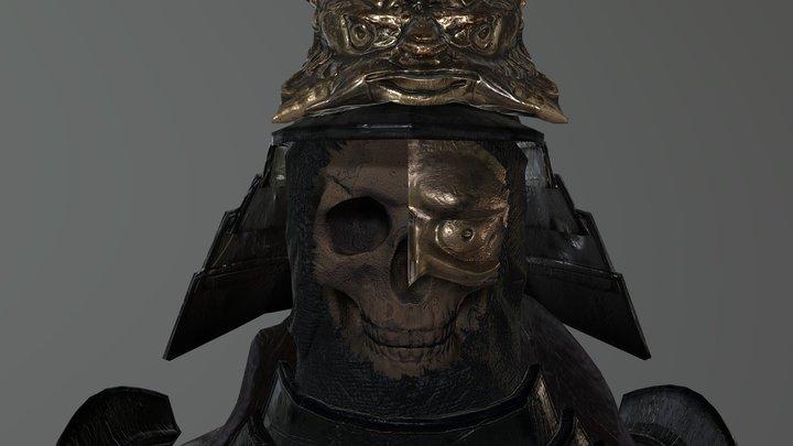 SkullSamuraiGeneral 3D Model