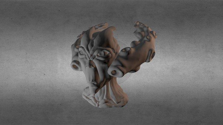 Guthix God of Balence V1 3D Model