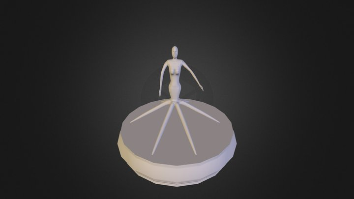 Sea Witch 3D Model