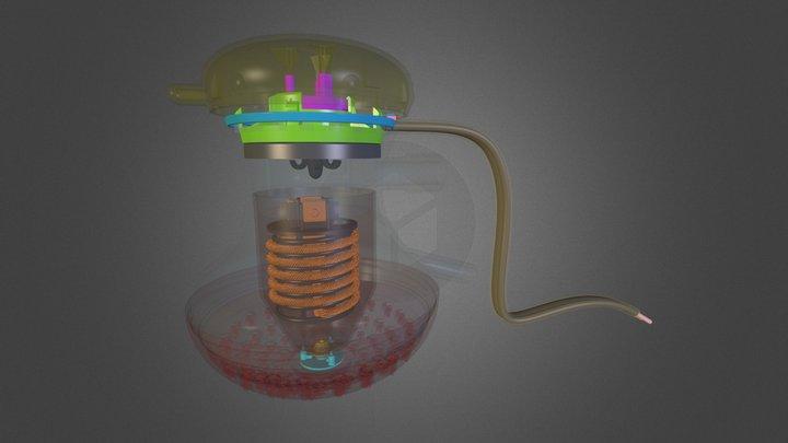 Chuveiro - Montagem 3D Model