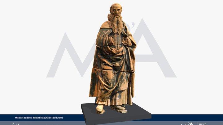 Sant' Antonio Abate di Saturnino Gatti 3D Model