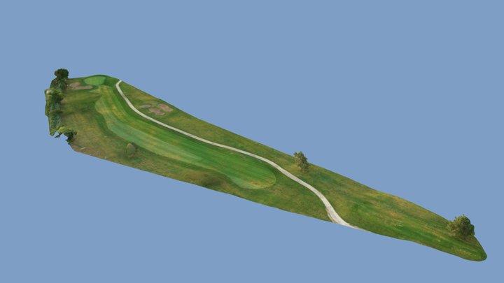 St. Clair Shores Golf Course - Hole #6 3D Model