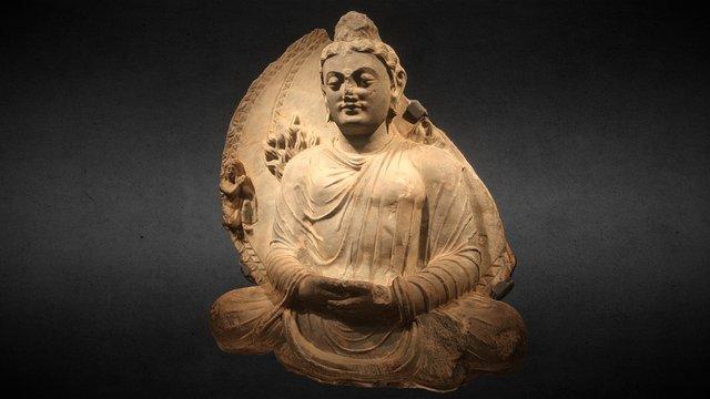 Israel Museum: Buddha 3rd-4th Century) 3D Model