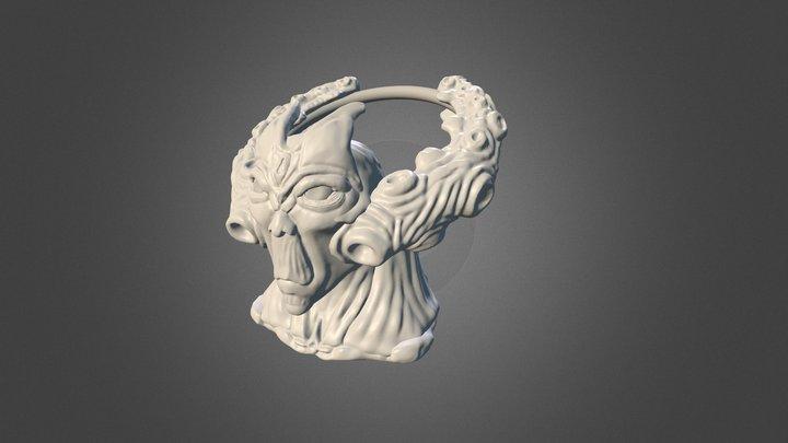 Guthix Sculpt 3D Model
