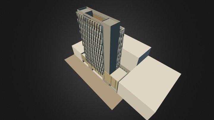 ALCALDIA LOCAL DE TEUSAQUILLO 3D Model