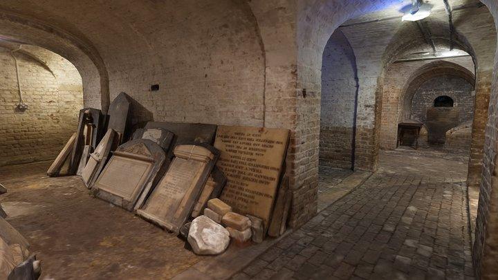 St Pancras New Church Crypt 3D Model