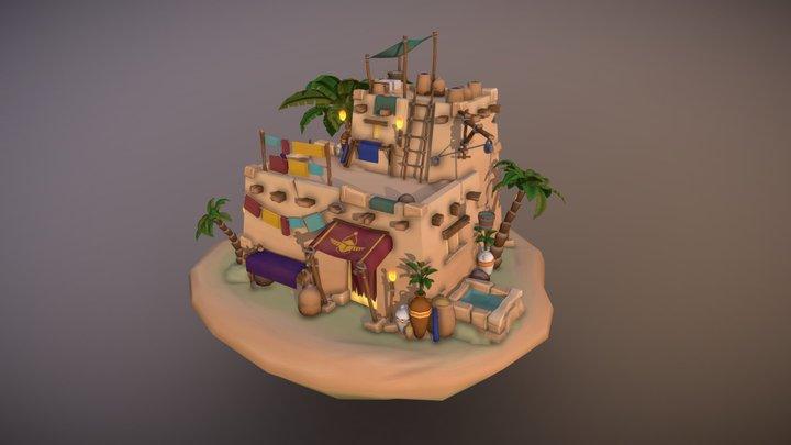 World of DAE Villages of Empires & Civilisations 3D Model