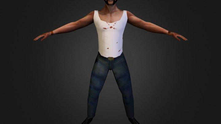 Wolverine 1 3D Model