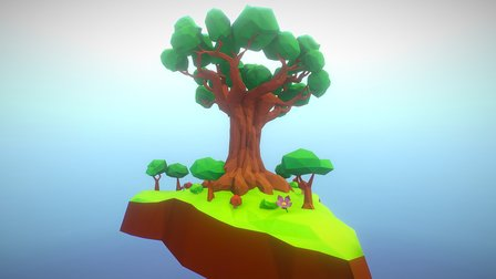 The Tree of Life 3D Model