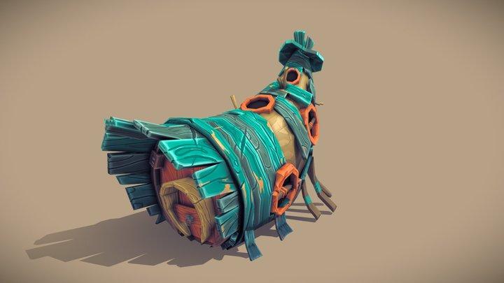 Horn House 3D Model