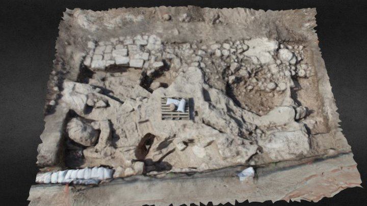 Ramat Yishai excavation - Tepper Y. 3D Model