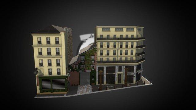 Sketchfab HQ - Paris 3D Model