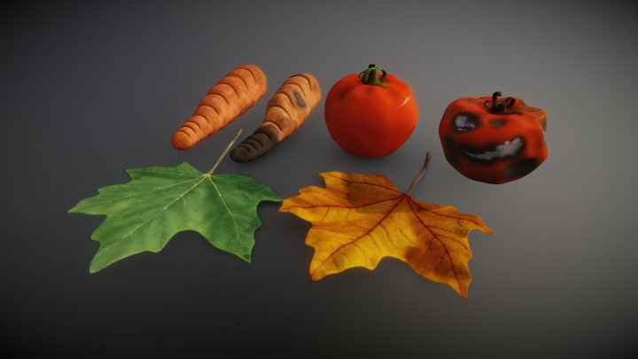 Fresh and Rotten 3D Model