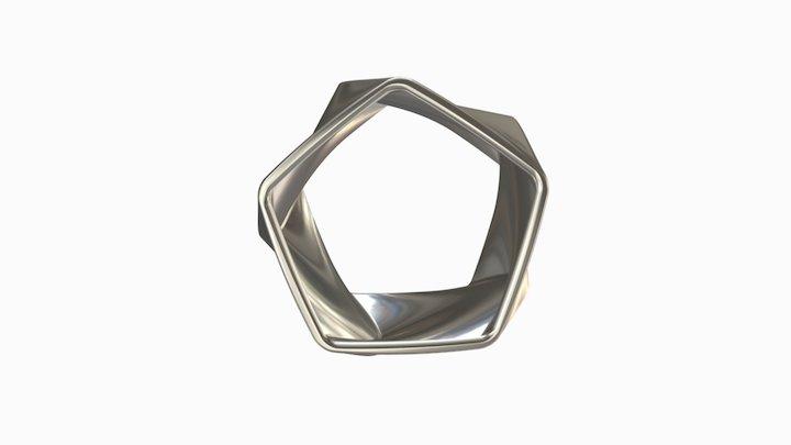 Flux Silver 3D Model