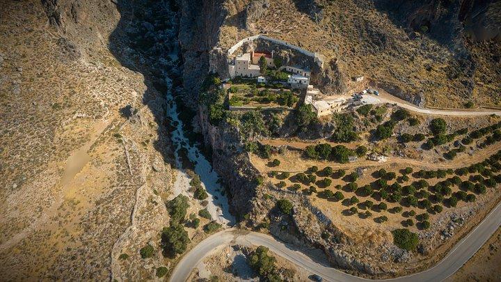 Kapsa Monastery - Perivolakia Gorge Crete Greece 3D Model
