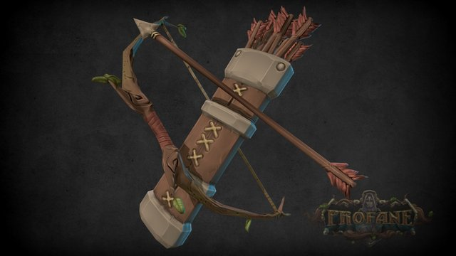 Profane - Bow and Arrow 3D Model