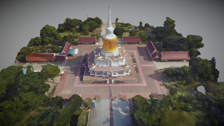 Another temple in Asia 3D Model