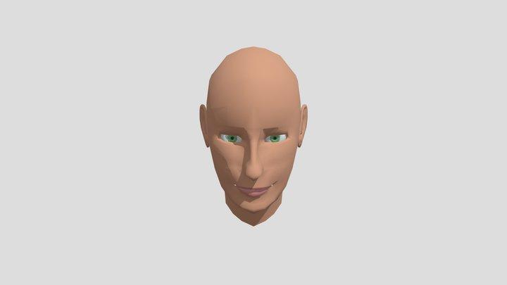 Human face 3D Model